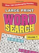 Large Print Word Search Part - 1