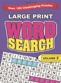 Large Print Word Search Part - 2